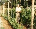 Grandaddy Working in his garden